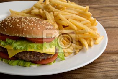 Köstlicher Hamburger