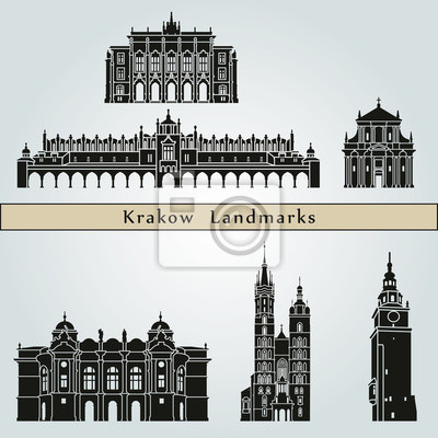 Bild Krakau Wahrzeichen