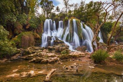 Bild Kravice Wasserfall in Bosnien und Herzegowina