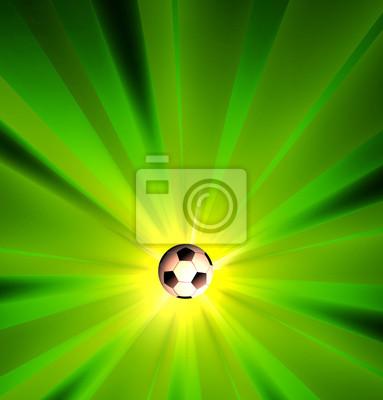 Kreative Fussball Lichtdesign Templare, einfach alle editierbaren