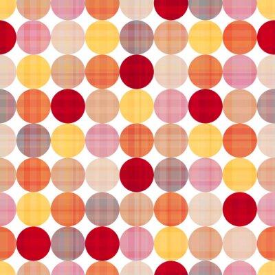 Bild Kreise nahtlose Hintergrund-Textur