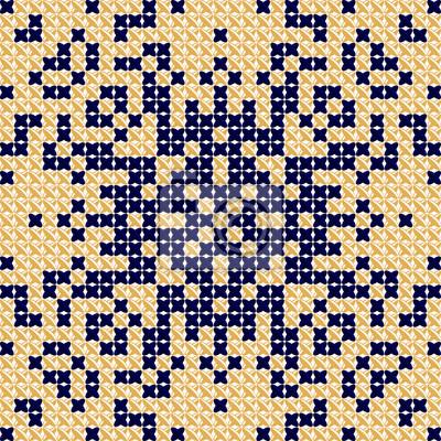 Kreuzstichvorlage, stickmuster, textil- und tapisseriehintergrund ...