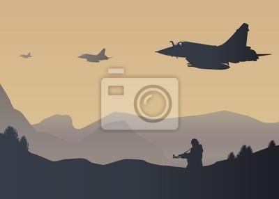 Krieg -Kampfflugzeug