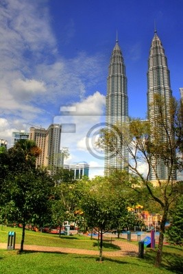 Bild Kuala Lumpur - Park im STADTZENTRUM