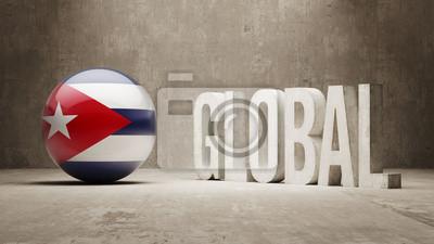 Kuba. Globales Konzept.