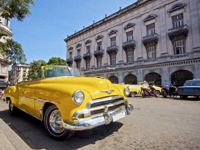 Bild Kuba, havana mit Oldtimer kaufen