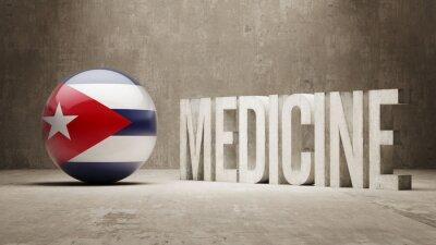 Kuba. Medizin-Konzept.