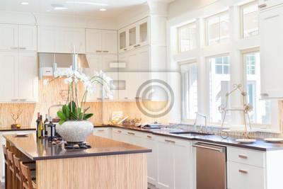 Bild Küche in New Luxury Home