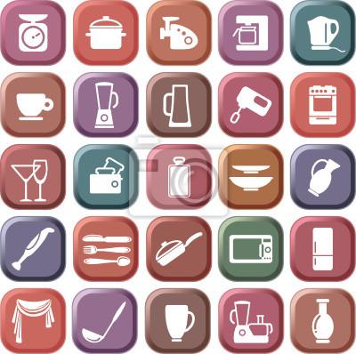 Küche Symbole