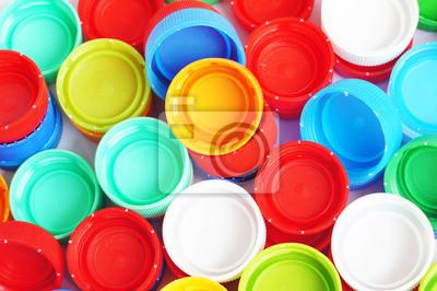 Bild Kunststoff-Verschlüsse der Flasche