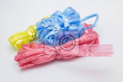 Kunststoffseil isoliert