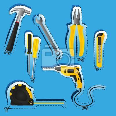 Labels von Werkzeugen