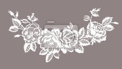 Bild lace floral garland