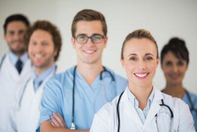 Lächelnd medizinisches Team