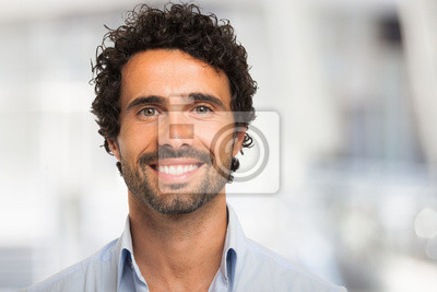 Bild Lächelnder Mann Porträt