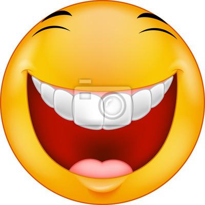 Lachender Smiley Leinwandbilder Bilder Emoticons Smileys Ok
