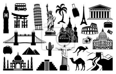 Landmark Reise-Ikonen