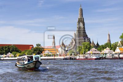 Bild Landschaft von Wat Arun buddhistische religiöse Orte von Bedeutung