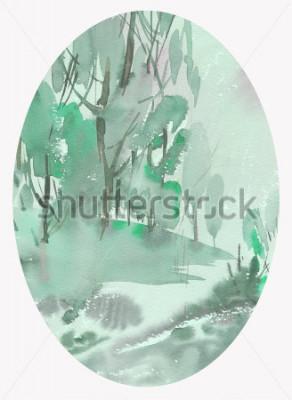 Bild Landschafts-Aquarell