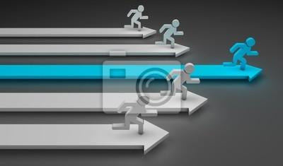 Bild Laufen Männer