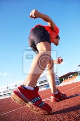 Läufer auf Start stellen