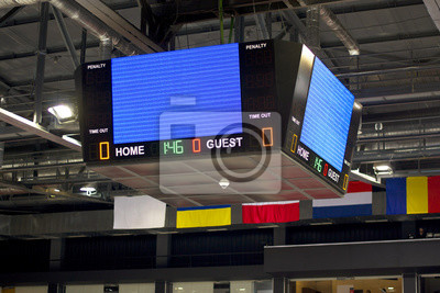 Leere Scoreboard