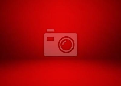 Bild Leerer roter Studioraum, benutzt als Hintergrund für Anzeige Ihre Produkte