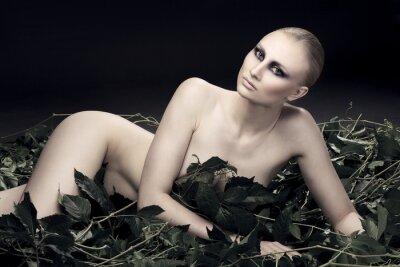 Bild leidenschaftlich und sexy Russin von einer schönen Figur