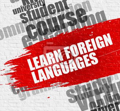 Lernen Sie Fremdsprachen auf der Brickwall.