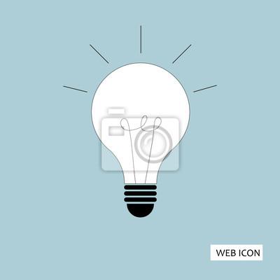 Licht-lampe-symbol vektor. leuchte lampe icon jpeg. licht lampe ...