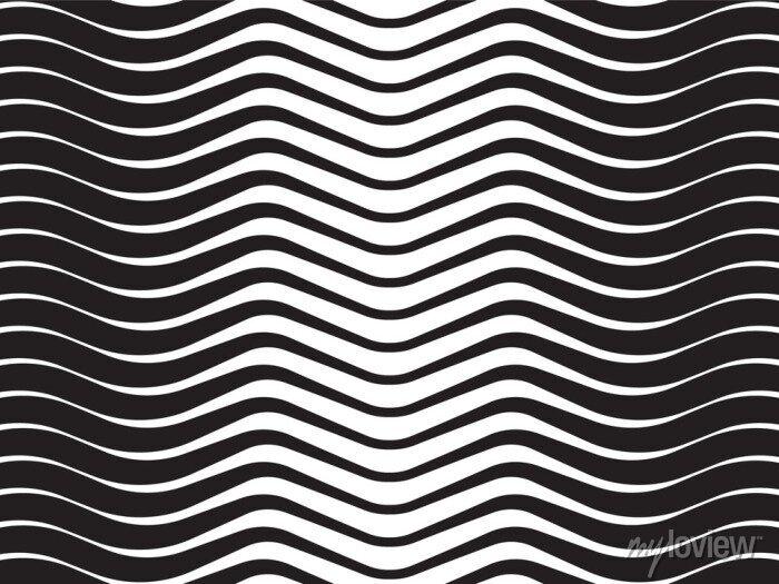 Bild Lichtwellen abstrakt gestreiften Hintergrund schwarz und weiß
