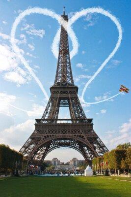 Liebe in Paris Eiffelturm Frankreich Concept - Me and You