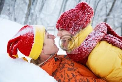 Liebhaber im Winter