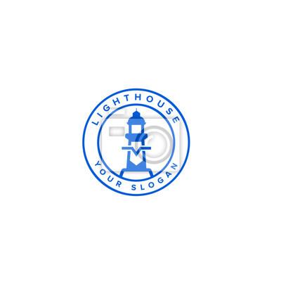 Bild Lighthouse logo template design