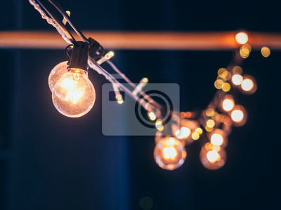 Bild Lights decoration Event Festival outdoor Holiday blur background