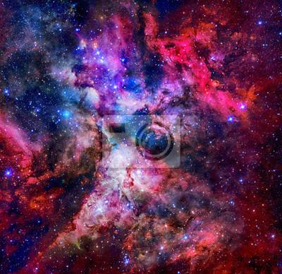 Leinwand-Bilder 100x50 Wandbild Canvas Kunstdruck Kosmos Weltall