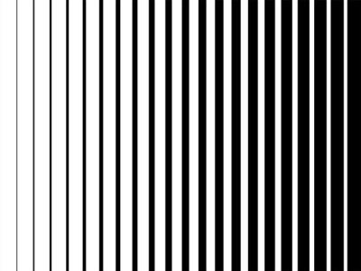Bild Linie Halbton Muster Textur. Vector gestreiften Steigungshintergrund des Schwarzweiss-Radialraums für Retro-, grafischen Effekt der Weinlesetapete. Einfarbige Pop-Art-Streifen-Overlay für Poster Illus