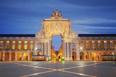 Bild Lissabon. Bild von Arch of Triumph in Lissabon, Portugal.
