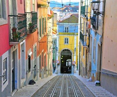 Bild Lissabon Seilbahn Bica