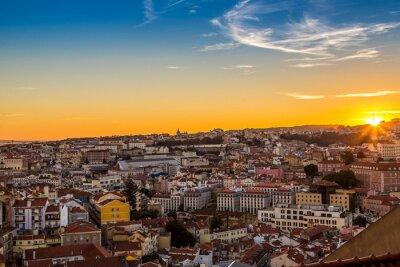 Bild Lissabon um nigth