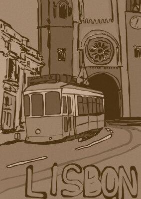 Bild Lissabon vintage