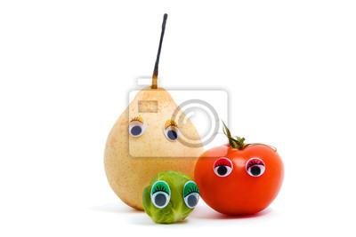 Live-Obst und Gemüse