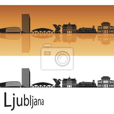 Bild Ljubljana Skyline