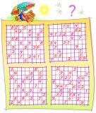 Logik sudoku spiel. müssen sie das puzzle mit den restlichen ...