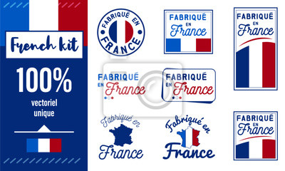 Bild Logo / Label / sticker / Fabriqué en France