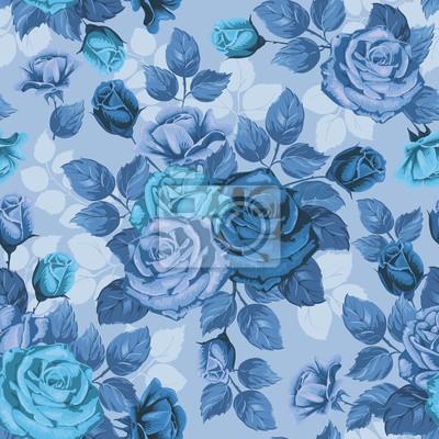 Lola Blumen Nahtlose Muster