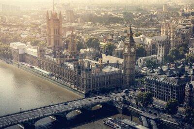 Bild London-Stadt Luftbild