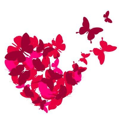 Bild love hearts,