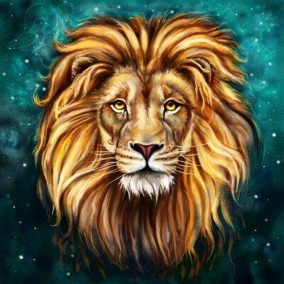 Bild Löwe tlo
