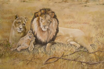 Bild Löwenrudel in den Urlaub